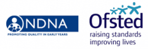 NDNA and Ofsted logos