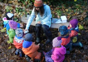 Forest School sessions for The Children's House Foundation Unit children