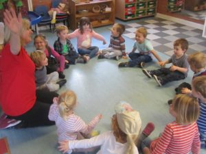 Pre-school nursery activities, Children's House Nursery, Southwell, Notts