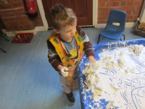 school ready mark making at the childrens house nursery southwell