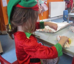 Child led learning at Childrens House Nursery in Southwell