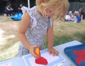 childs learning journey mark making at childrens house nursery in southwell nottinghamshire