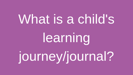 what is a learning journey or learning journal