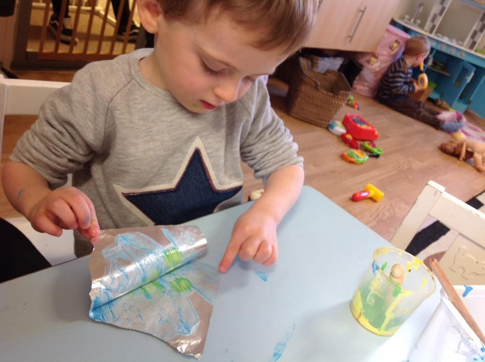 Childrens House Nursery Care Activities For Toddlers Under 3s In