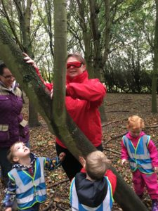 Forest school sessions Childrens House Nursery Pre-school Southwell Nottinghamshire