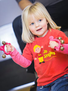 Jo Jingles music movement sessions Southwell Nottinghamshire