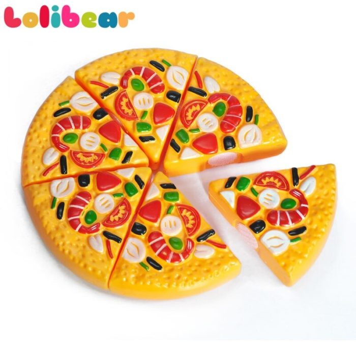 nursery school plastic pizza